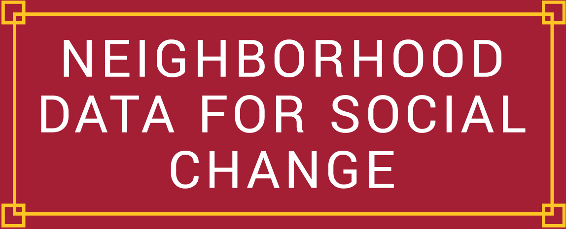 Neighborhood Data for Social Change Logo